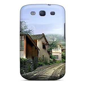 High Quality Polooshells10 3d Road Houses Skin Cases Covers Specially Designed For Galaxy - S3