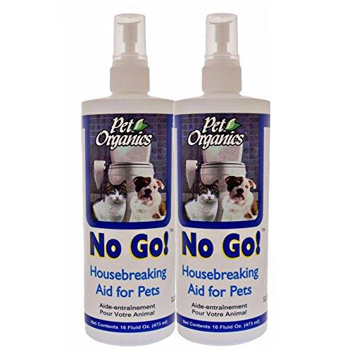 Pet Organics No-Go Housebreaking Aid Spray 16 oz – Pack of 2