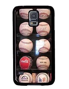 A Baseball Collection DIY Hard Shell Black Samsung Galaxy S5 I9600 Case Perfect By Custom Service