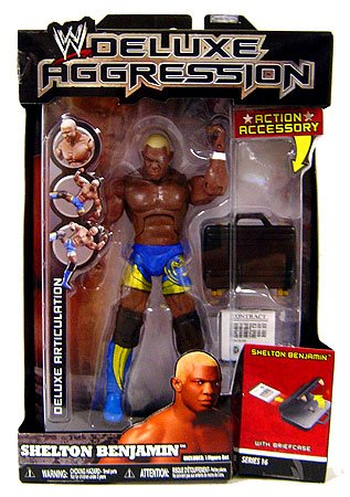Prannoi WWE Wrestling Deluxe Aggression Series 16 Action Figure Shelton Benjamin