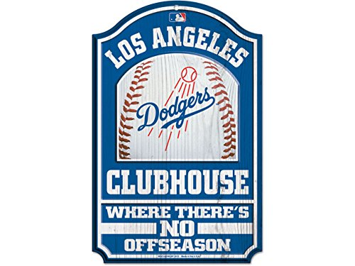 WinCraft MLB Los Angeles Dodgers 28734012 Wood Sign, 11