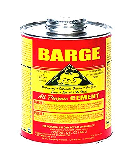 (Barge All-purpose Cement Rubber Leather Shoe Waterproof Glue 1 Qt (O.946 L) )