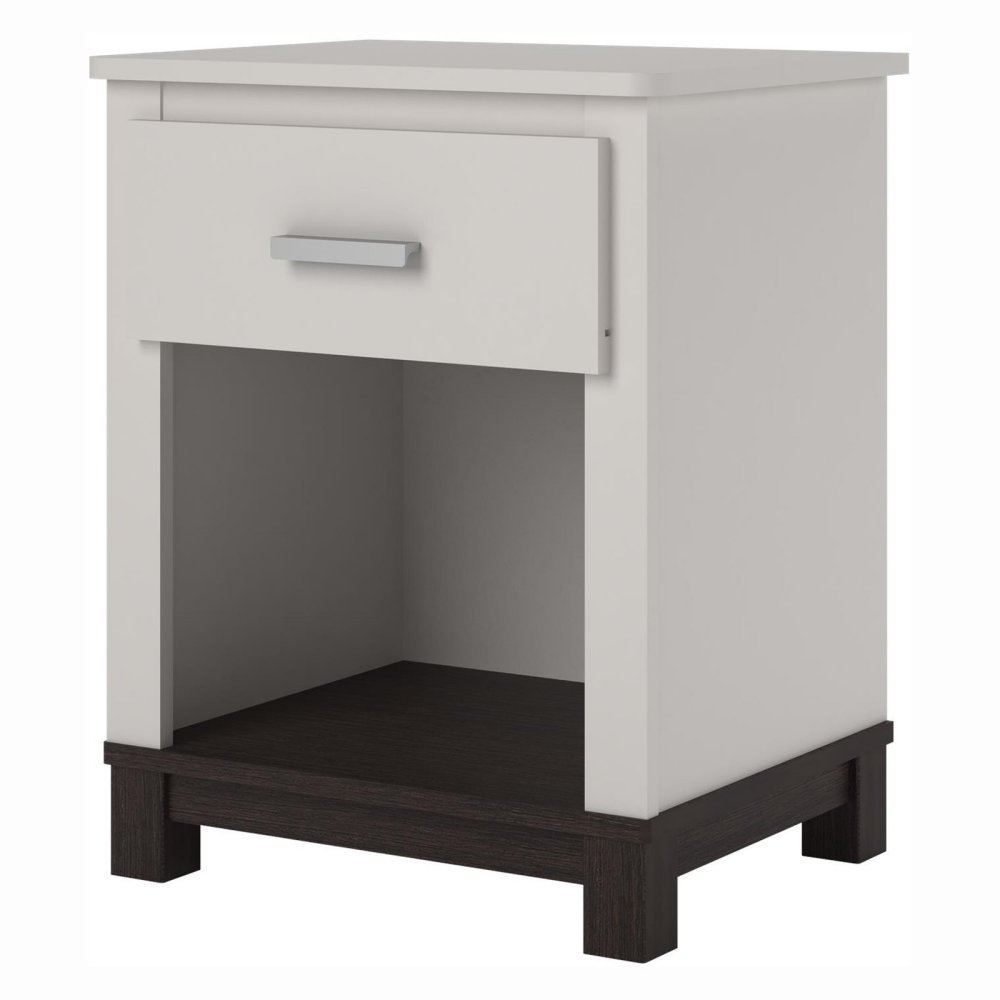 Cosco Products Leni Night Stand, White 5923216COM