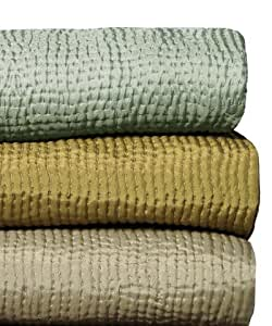 Kevin O'Brien Coverlet - Olive Queen