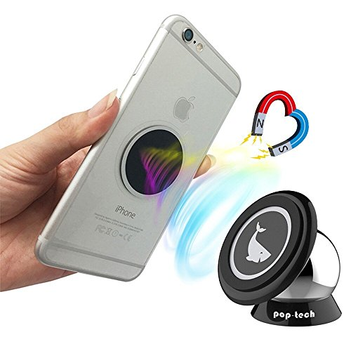 Pop-Tech-Universal-Magnetic-Mobile-Phone-Car-Mount-for-Smartphones-Tablets-and-GPS-Devices