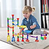 Innoo Tech Marble Run Toys, Marble Genius Set, STEM Learning Toy Marble Run Sets Kids, Construction Toys Kids, ABS, 80 Pcs