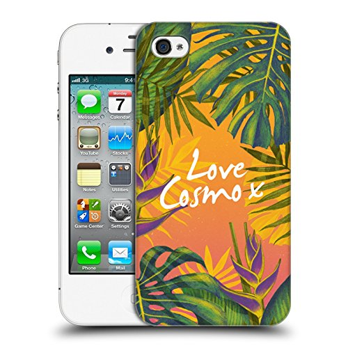 Official Cosmopolitan Bird Of Paradise Tropical Hard Back Case for Apple iPhone 4 / 4S