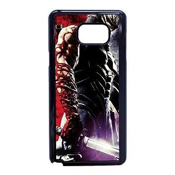 Samsung Galaxy Note 5 phone case Black Ninja-Gaiden-3 ...