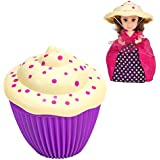 Cupcake Surprise Princess Edition Scented Doll Kaelyn + Bonus Matching Mini Cupcake Surprise Doll Kaelyn Set Of 2