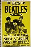 The Beatles at Shea Stadium Poster