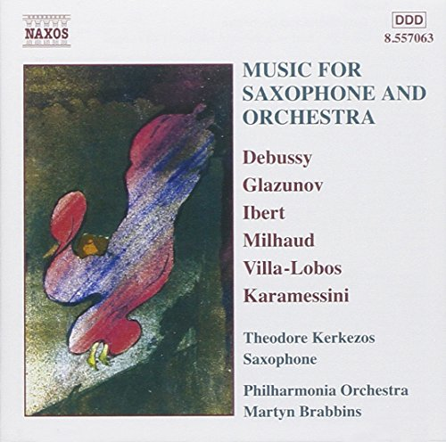 Music for Saxophone & Orchestra / Various