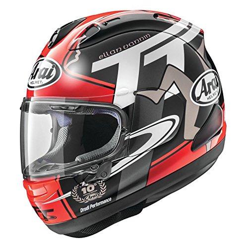 (Arai Corsair-X Isle of Man TT 2018 Motorcycle Helmet - X-Large)