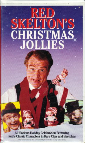 Red Skelton's Christmas Jollies (1993 Compilation) [VHS Video] [Clamshell Case] (Case Platinum Collector)