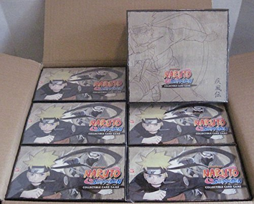 (Naruto Will of Fire TCG Starter Deck Case - 6 Boxes - 8 Decks Per Box)