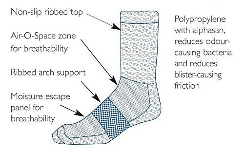 Tilley Women's TA803 Travel Ankle Socks