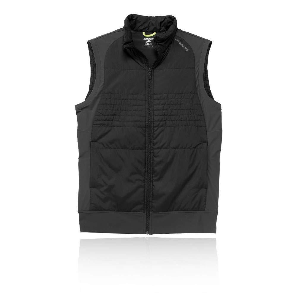 Men 's Brooks Cascadia Thermalベスト X-Large Black/Asphalt B01N0DW4M3