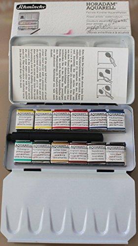 SCHMINCKE Half Pan Watercolor Pocket Set