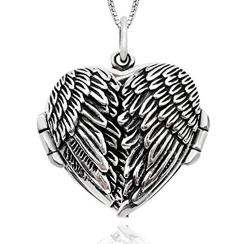Angel Heart Locket - 8