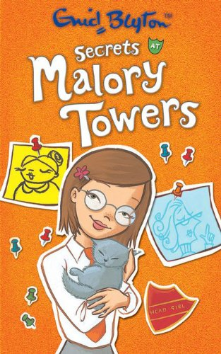 book cover of Secrets at Malory Towers