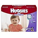 Huggies Little Movers Diapers, Size 5, 132 Count (Packaging May Vary) by Huggies