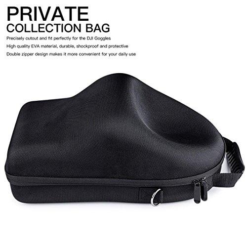 Eintritt Paket, ADESHOP Für DJI Goggles VR Gläser Fall Harte Tragetasche Hardshell Gehäuse Lagerung Tasche
