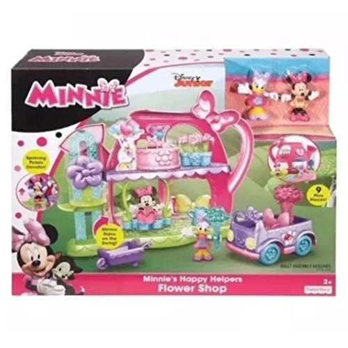 Minnie Mouse's Happy Helpers Flower Shop Disney Junior 9 Play - Sweet Minnie
