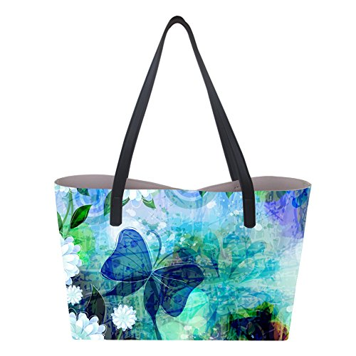 Butterfly Large 2 Borsa donna Showudesigns mano a XwvBnUH