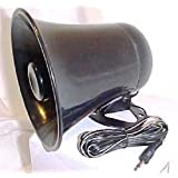 PA Horn SPEAKER w/ Plug & Wire - 5 inch for CB / Ham Radio