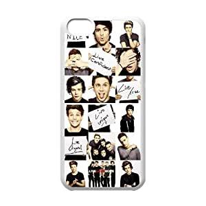 VNCASE One Direction Phone Case For Iphone 5C [Pattern-6]