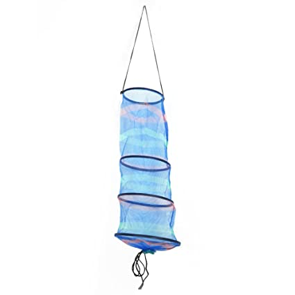 50 x Cheap Blue Plastic Creel Hooks fo Lobster Pots Lobster Fishing Hooks