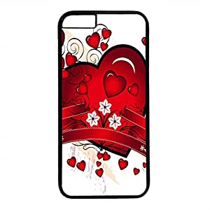 Hard Back Cover Case for iphone 6 Plus,Cool Fashion Black PC Shell Skin for iphone 6 Plus with Love 4 by ruishername