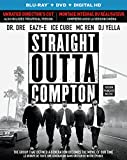 Straight Outta Compton (Blu-ray + DVD + Digital HD with Ultraviolet) (Bilingual)