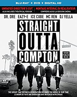 Straight Outta Compton (Blu-ray + DVD + Digital HD with Ultraviolet) (Bilingual) (B0143FP6AG) | Amazon Products