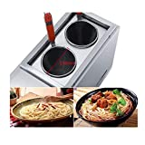 Commercial Table Top 2 Baskets LPG Pasta Cooking