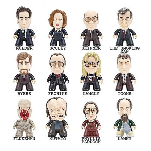 X-Files Titans The Truth is Out There Collection Mini-Figure by Titan Merchandise
