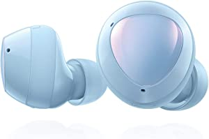 Samsung Galaxy Buds Plus, True Wireless Earbuds (Wireless Charging Case Included), Cloud Blue – US Version