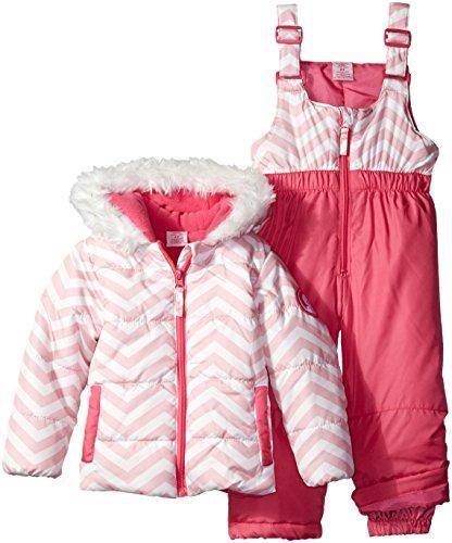 us-polo-assn-little-girls-toddler-zig-zag-patterned-puffer-pram-pink-white-print-2t