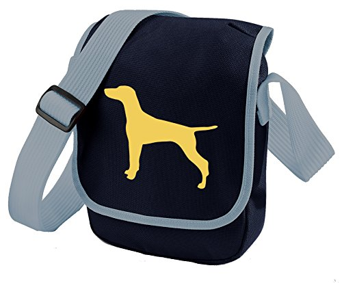 Dog Choice Of Bag Silhouette Colours Gift Shoulder Blue Reporter Vizsla Hungarian U5wqaq