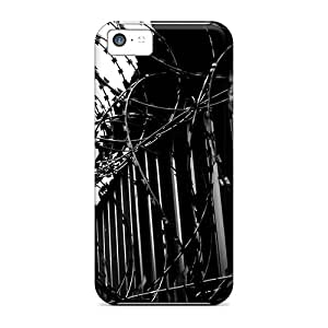 Iphone Cover Case - Barbed Barrier Protective Case Compatibel With Iphone 5c