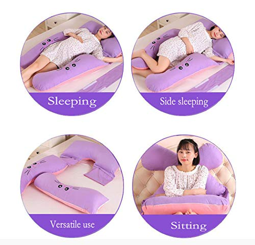 U-shaped Pillow, Full Body And Back Support Maternal Pregnancy Comfort Pillow, Nursing Maternal Maternity Pillow (Color : I) by Hhdd (Image #6)
