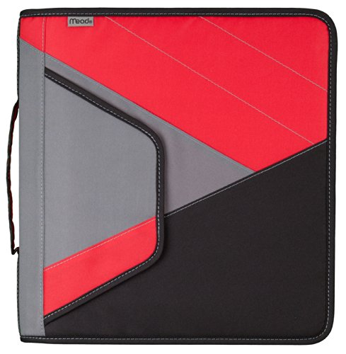 "Mead 2"" Zipper Binder with Handle, Includes Interior and ..."