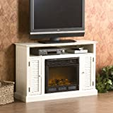 Southern Enterprises Antebellum Media Electric Fireplace 48