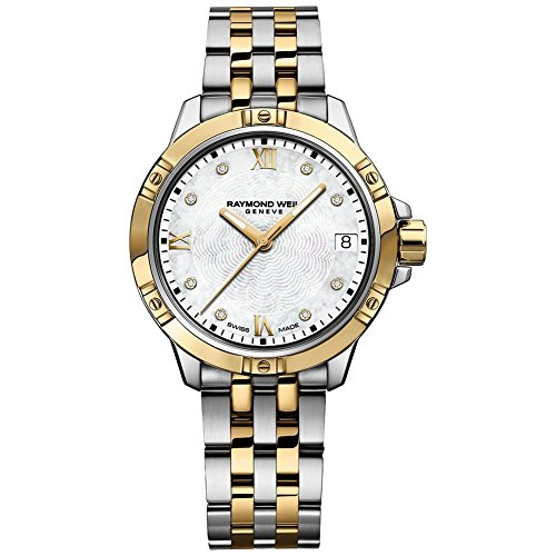 Raymond Weil Tango White Mother of Pearl Diamond Dial Ladies Watch ()