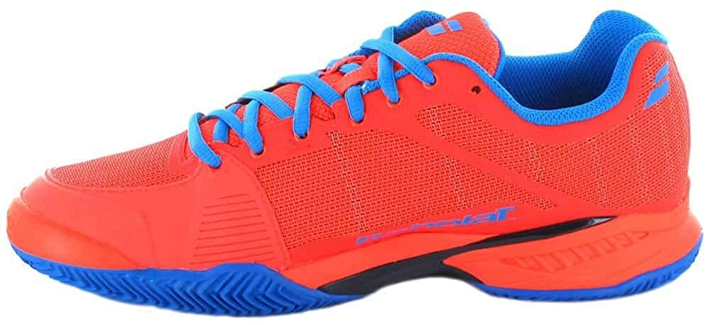 ZAPATILLAS BABOLAT JET TEAM AC AZUL AMARILLO: Amazon.es ...
