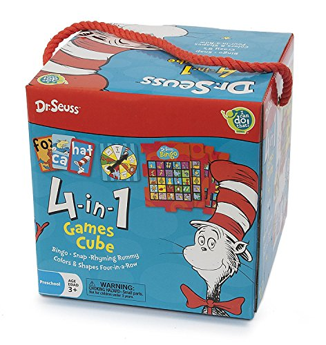 Crazy Box (Dr Seuss 4 in 1 Games in a Box Ages 3 + for Little Hands)