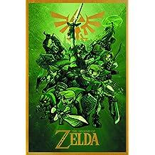 Legend Of Zelda Links 24X36 Inch Poster