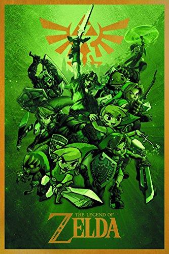Legend Zelda Links 24X36 Poster