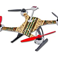 Skin For Blade 350 QX3 Drone – Desert Stripes | MightySkins Protective, Durable, and Unique Vinyl Decal wrap cover | Easy To Apply, Remove, and Change Styles | Made in the USA