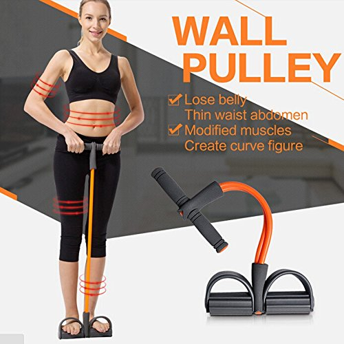 Taran Pull Reducer Tummy Trimmer Builder Home Gym and Waist Six Pack Pull Exerciser Resistance Tube