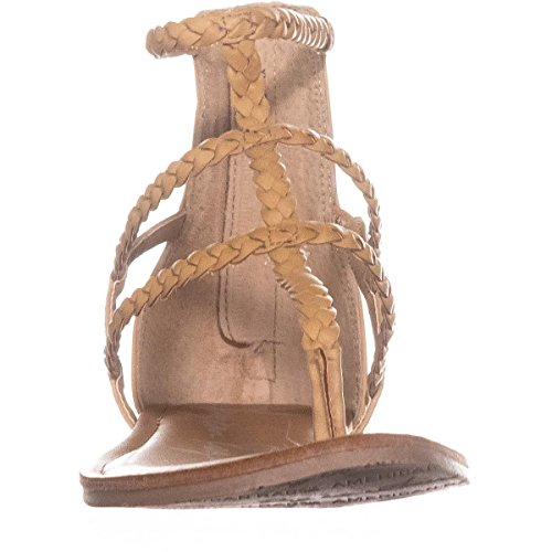 American Open amadora Light Rag Sandals Strappy Toe Womens Natural Casual g1rgqxU